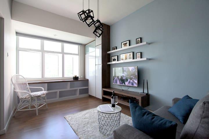 NEW 1000sqf Gorgeous hideout on the hill - paya terubong  - Appartamento