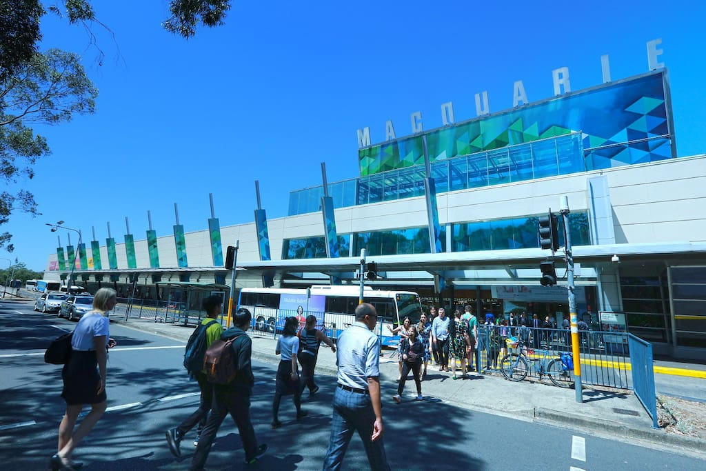 Macquarie Shopping Centre and Bus Station