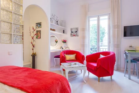 Elegant Studio in ATOCHA*RETIRO & CENTER A/C - Madrid - Apartmen