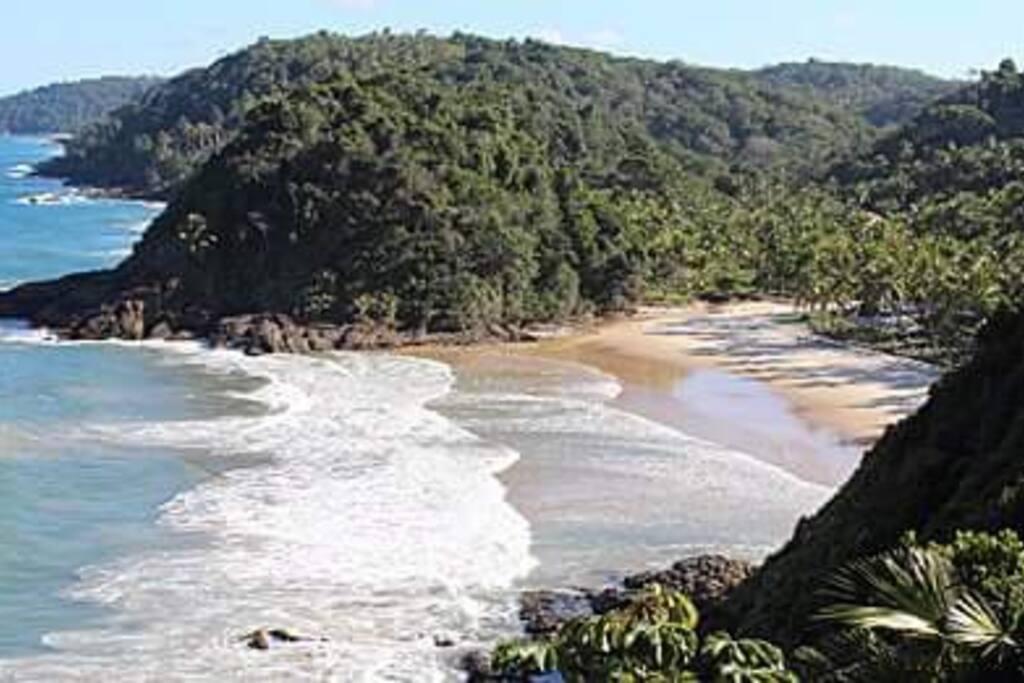 Região costeira localizado entre Ilhéus _itacare