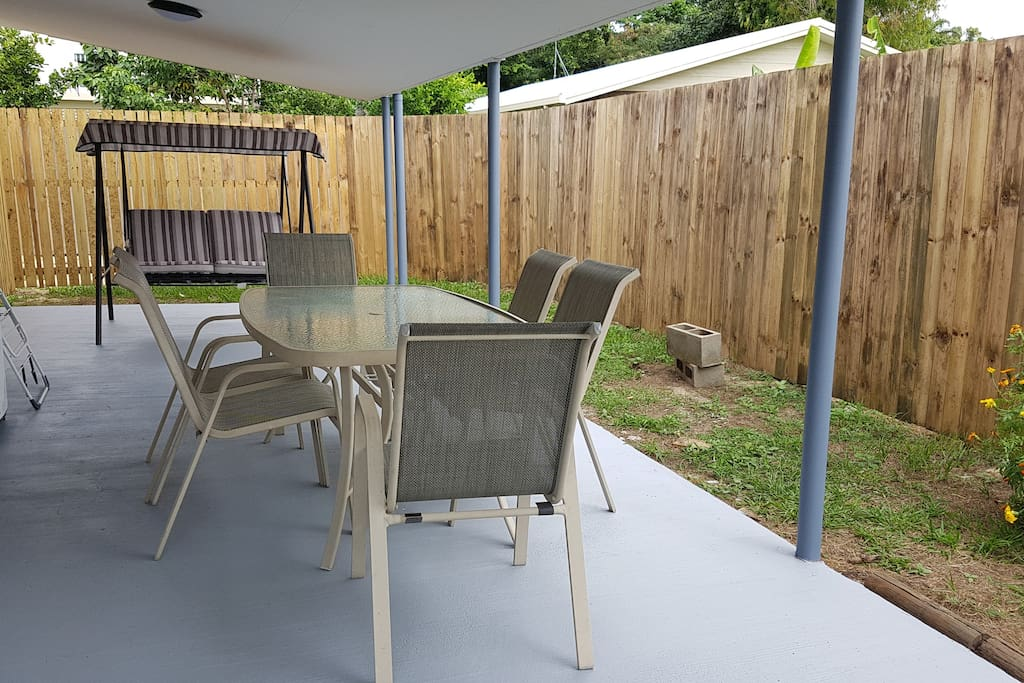 Your spacious private outdoor area