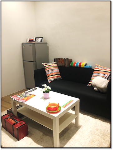 Near the MRT station / own use of space / balcony - Luzhou District - Appartement