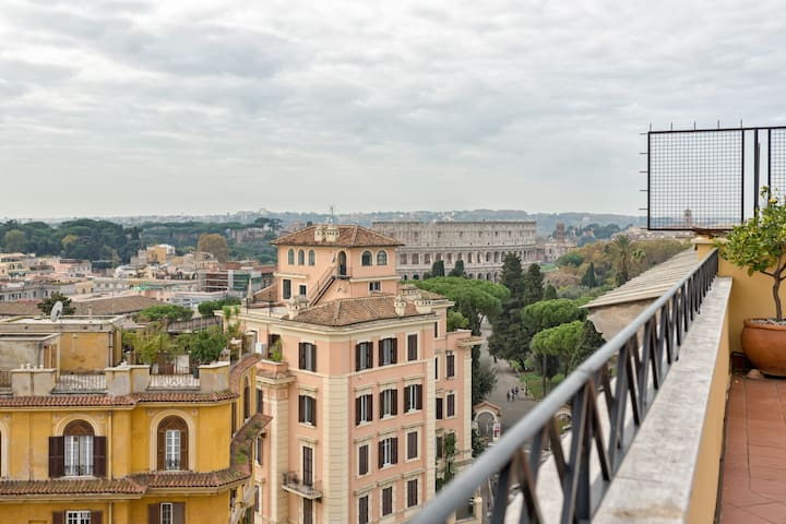 Colosseo Terrace 180° - Roma