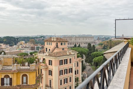 Colosseo Terrace 180° - Rome - Appartement