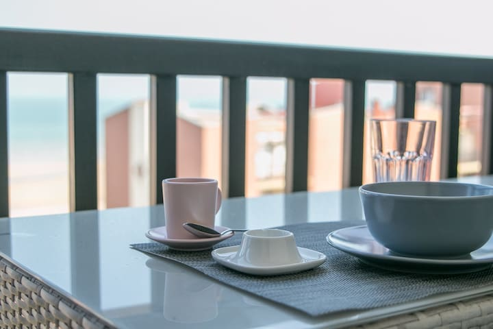 Nice apartment with a sea view in Cabourg