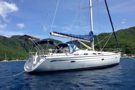 Cabine double dans voilier 14 mètres - Sainte-Anne