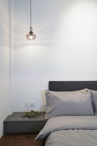 Minimalist cozy design for your comfortable stay