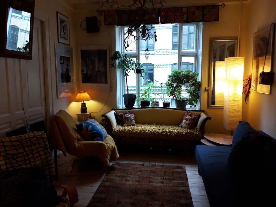 Sitting room towards Willemoesgade