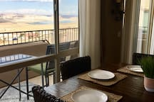 Dining views of Lake Powell and the Grand Staircase Escalante
