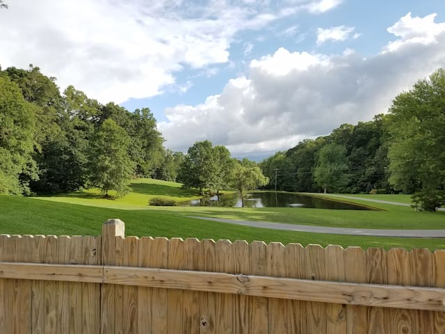 Mtn. Views near Asheville w outdoor in-ground pool