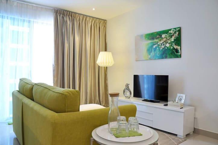 Trefoil Comfortable Homestay - Nos 2 , Seksyen U13 - Apto. en complejo residencial