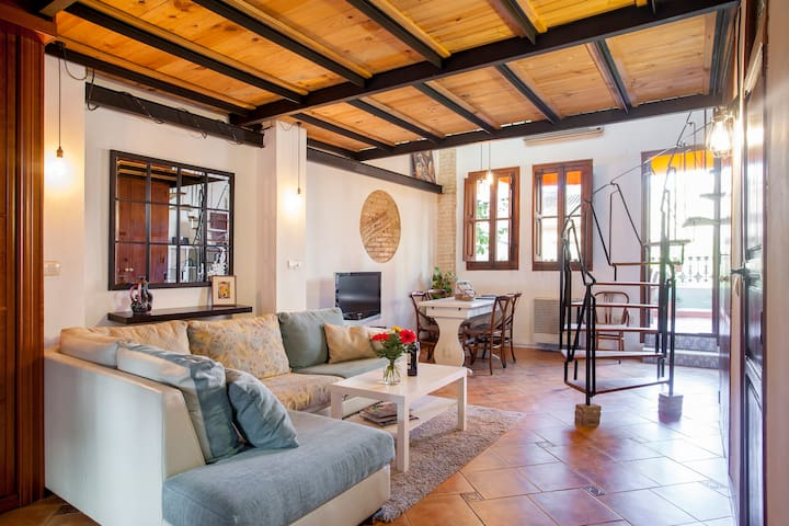 Cozy central Penthouse with Sunny Roof Terrace - València - Lejlighed
