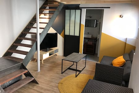 Cosy fully equipped 2-4 people city center Cognac