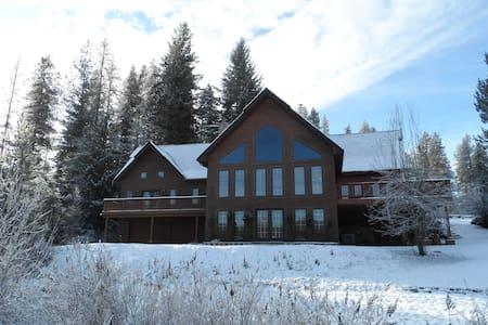 Rose Lake Lodge Lakefront Chalet - Cataldo