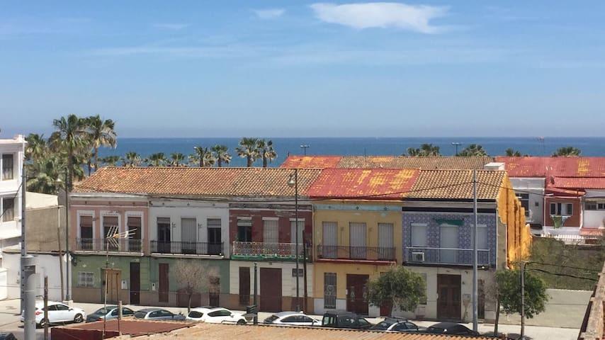 Apartamento en la playa de valencia el cabanyal - Riscaldamento alternativo in casa in affitto ...