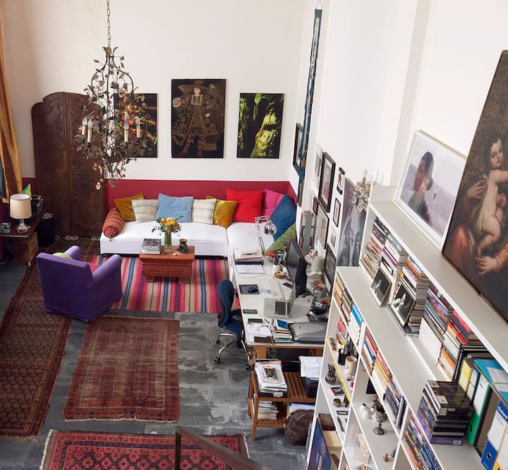 Unique Artist's Loft in the Heart of Milan.