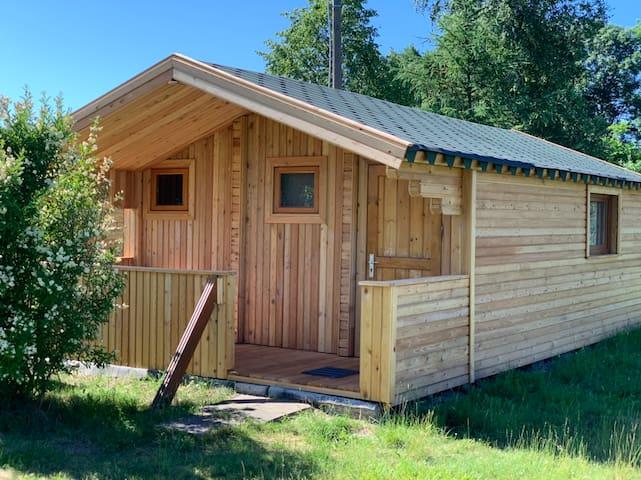 Tranquil Log Cabin Retreat in Šventoji (#1 EASTHS)