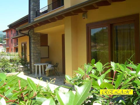 New Apartment on Iseo Lake for 6/8