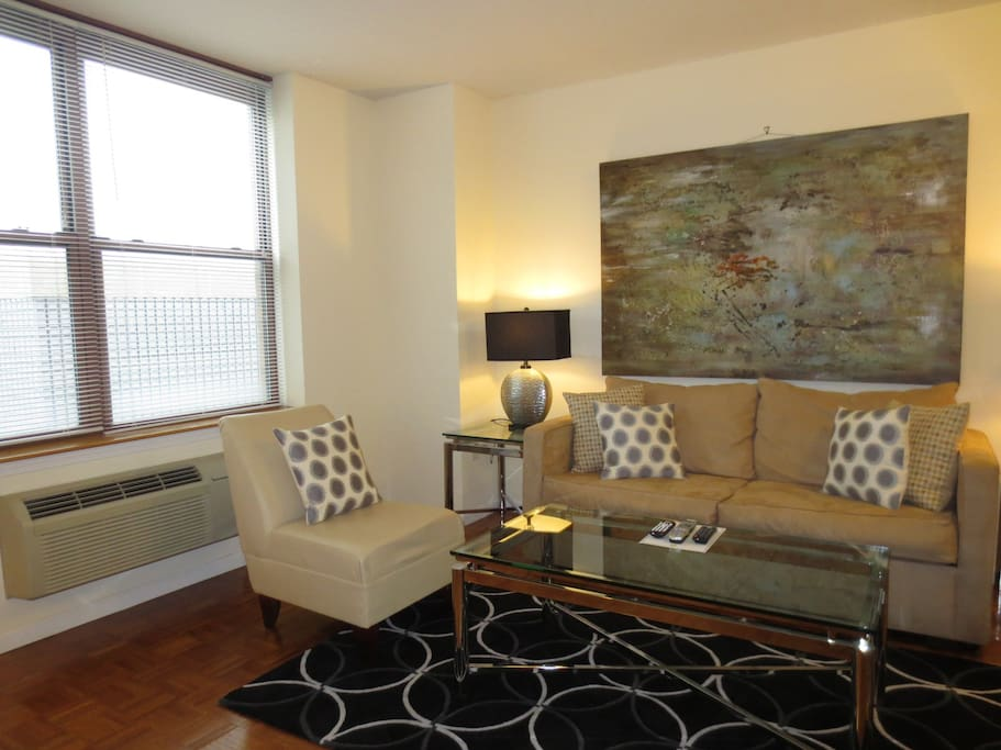 lux hoboken 1 bedroom w wifi minutes from nyc