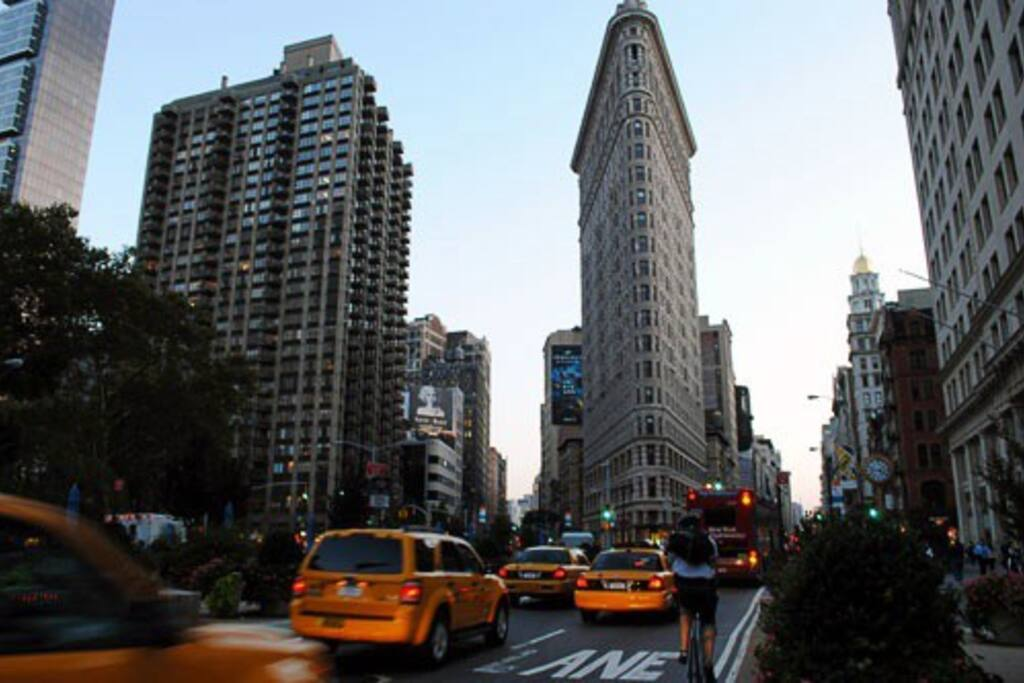 Close to everything the Flatiron District has to offer