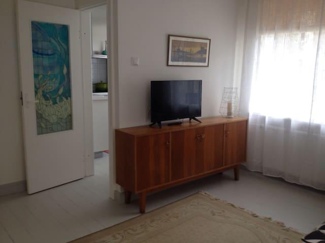 Bright central studio apartment