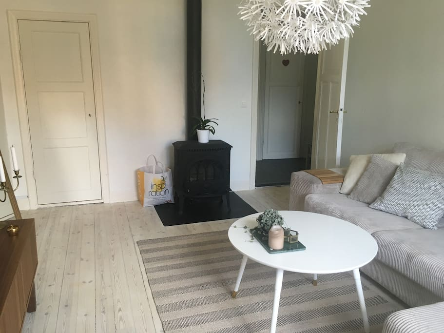Fire place in livingroom