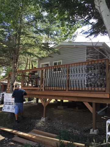 Cozy Seasonal 2 Bedroom Cabin - clear lake  - Kabin