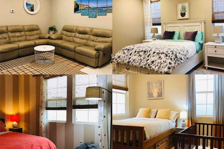 Comfy home 3b/2.5b minutes to Airport and downtown