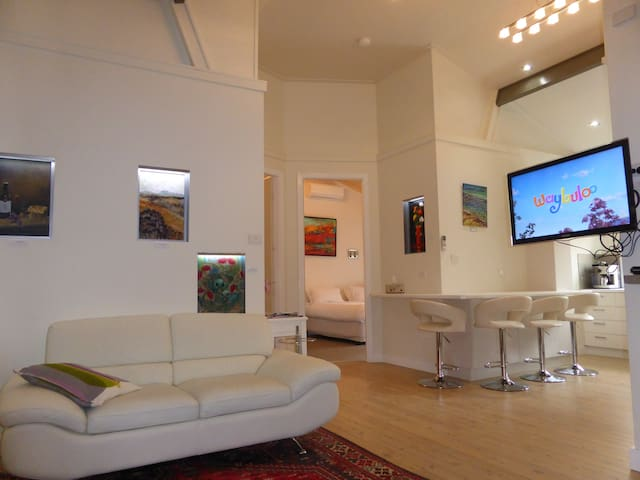 A Colourcity Apartment: The Gallery