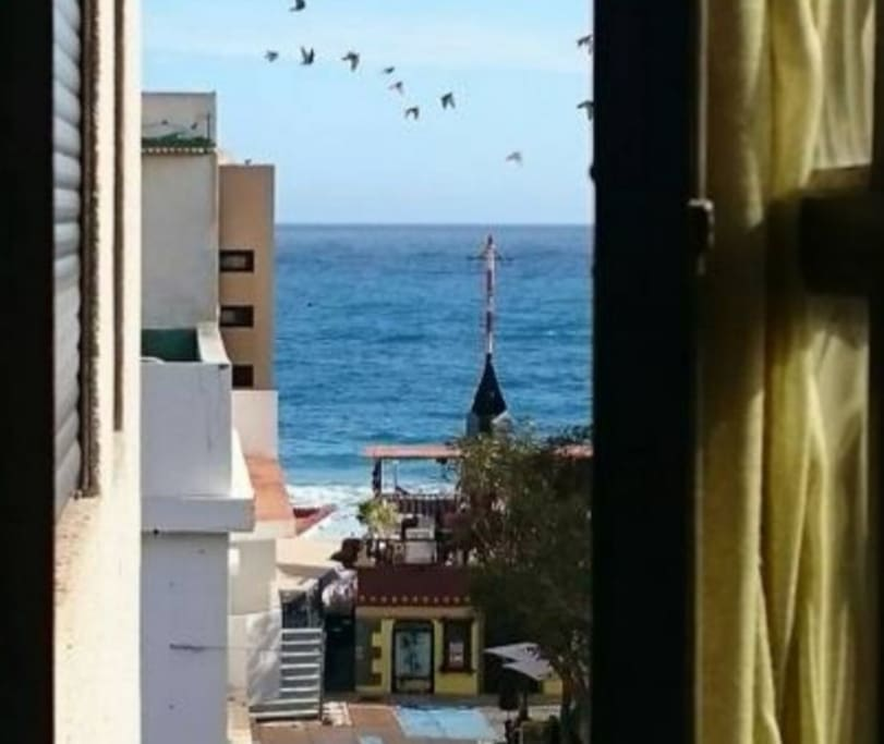 Vista ventana salón