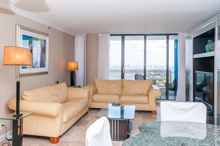 4033, Very High/direct water view - Miami - Flat