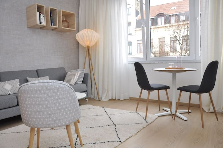 Cosy scandinavian design appartment