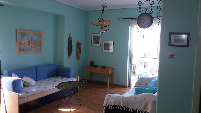 Cozy Apartment, Center Platamon. - Platamon - Apartemen