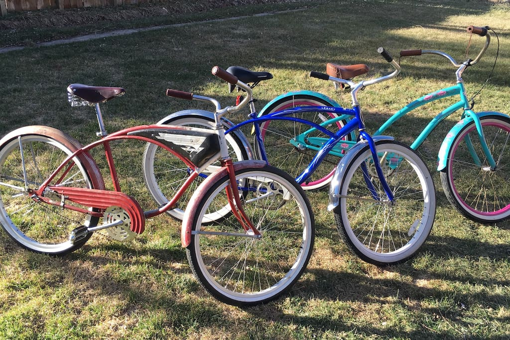 The bike fleet is ready for your Boulder adventure or transportation needs.