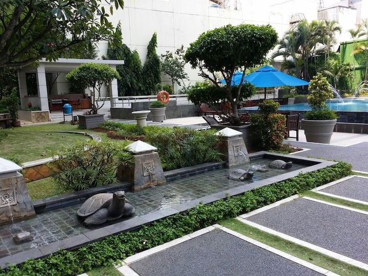 Cozy kids-friendly &parking,Sth Jkt