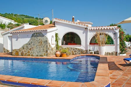 Gorgeous colourful Andalucian villa - Canillas de Albaida