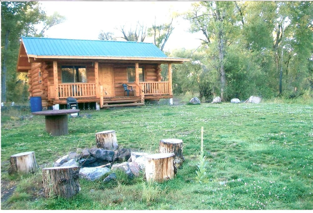 private cabin on the conejos river cottages for rent in