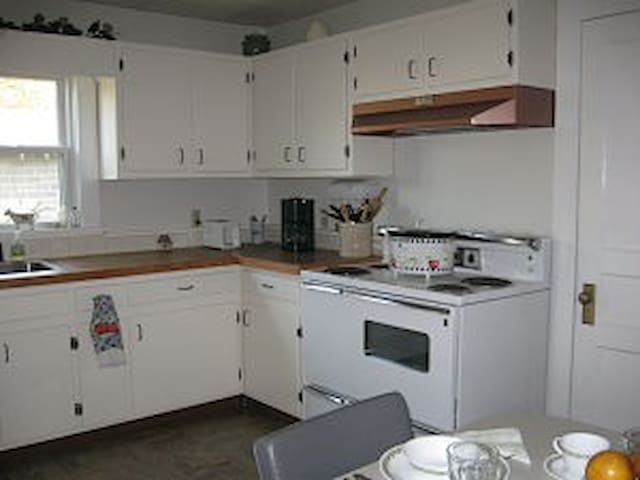 Enjoy our fully-equipped kitchen.