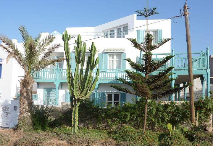 Grande Villa coloniale vue sur mer,