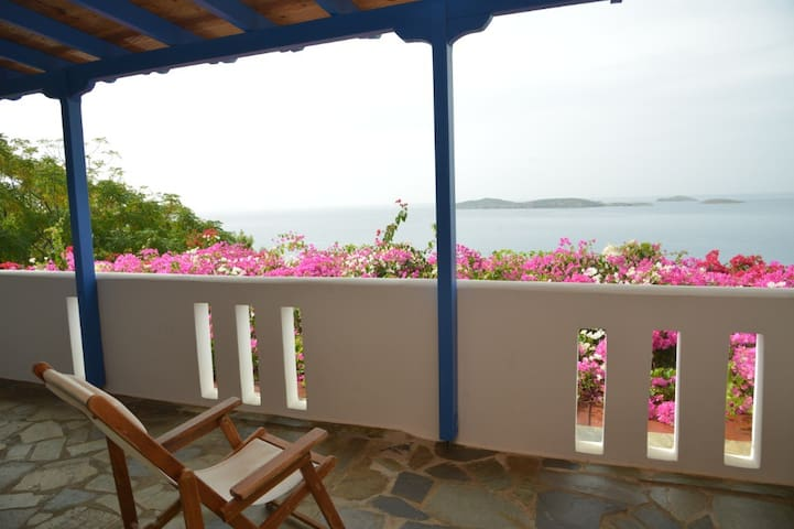See Andros Sunset,relax economicall - Andros - Apartment