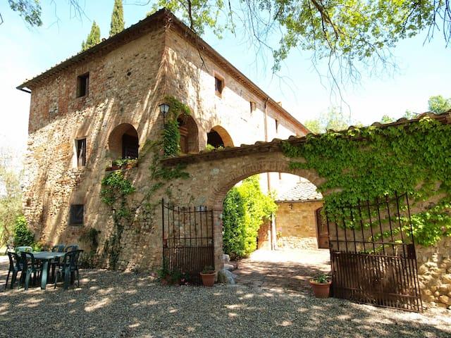Casa Tolomei (Castello di Bossi) - Castelnuovo Berardenga - Lejlighed