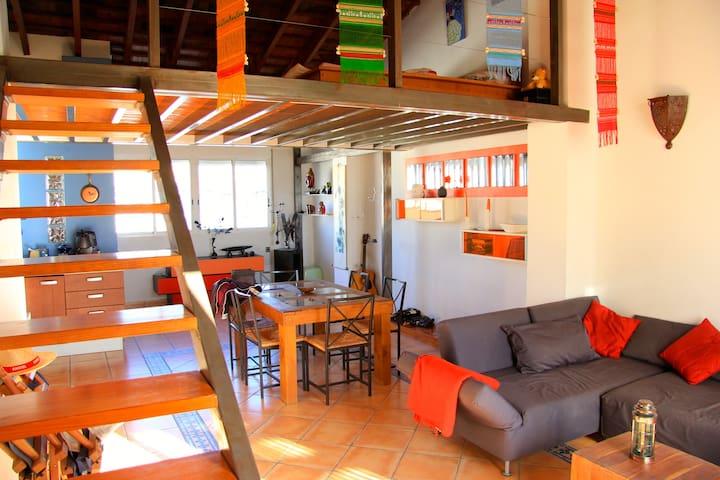 Loft con terraza en Ruzafa + Bicis - València - Loft