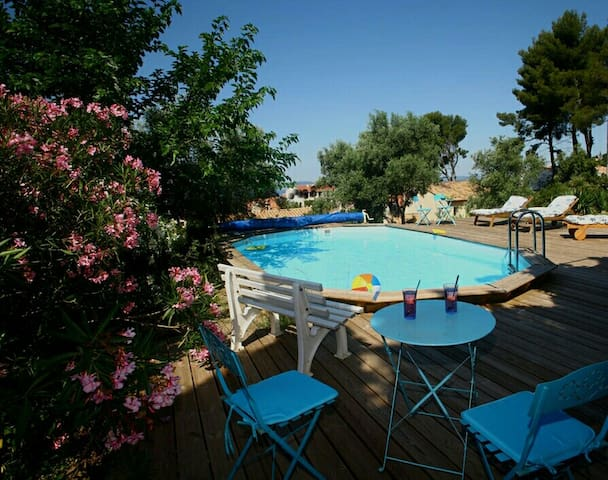 BAS DE VILLA TOUT CONFORT. 3 BR QUALITY RENTAL - Vitrolles - Apartment