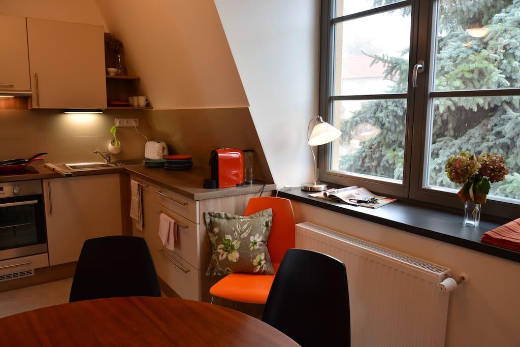 Krocinka II - spacious kitchen
