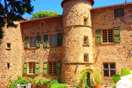 """The bedroom """"L'ALCOVE"""" - Le Monteil - Bed & Breakfast"""