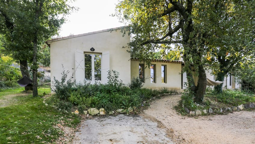 Villa Lacoste Luberon piscine - Lacoste - Casa