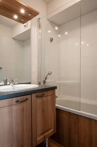 Appartement 1 chambre, un coin nuit et salon - Besse-et-Saint-Anastaise