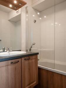 Appartement 1 chambre, un coin nuit et salon - Besse-et-Saint-Anastaise - 飯店式公寓
