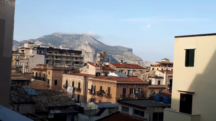 vista di monte Pellegrino