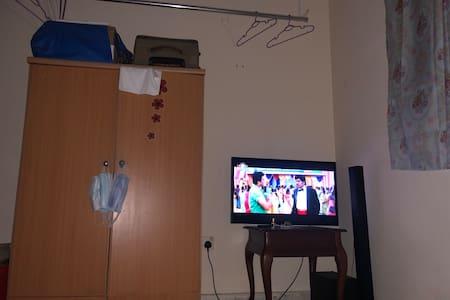 Cozy, private partition